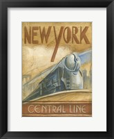 Framed New York Central Line