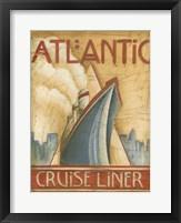 Framed Atlantic Cruise Liner