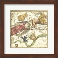 Framed Zodiac Chart I