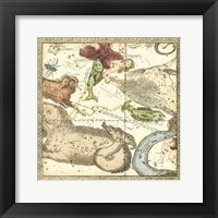 Framed Zodiac Chart III