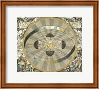 Framed Celestial Hemispheres I