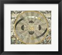 Celestial Hemispheres I Framed Print