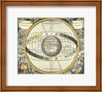 Framed Celestial Hemispheres II