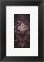 Framed Rose Tapestry I