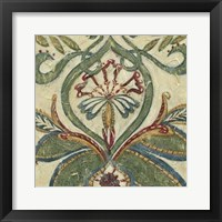 Framed Textured Tapestry I