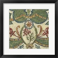 Framed Textured Tapestry III