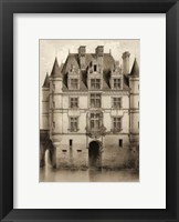 Framed Petite Sepia Chateaux V