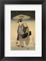 Framed Women Of Japan I