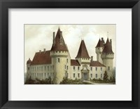 Petite French Chateaux I Framed Print