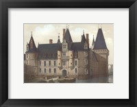 Framed Petite French Chateaux II