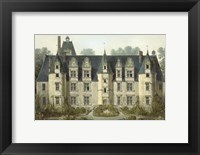 Framed Petite French Chateaux III