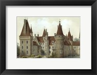 Framed Petite French Chateaux IV
