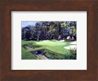 Framed 13th At Augusta-Azalea