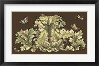 Framed Nature's Splendor On Chocolate I