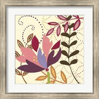 Framed Berry Blossom II