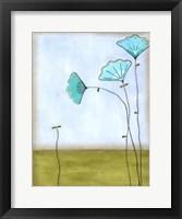 Minna's Garden II Framed Print