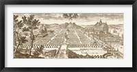 Sepia Jacob's Dahl Framed Print