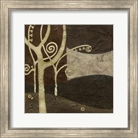 Framed Sylvan Spirals III