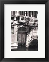 Framed Venetian Doorway