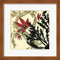 Framed Coral Tapestry II