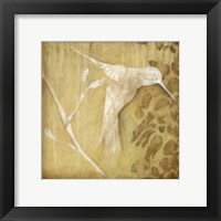 Framed Wings and Damask I
