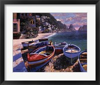 Framed Capri Cove