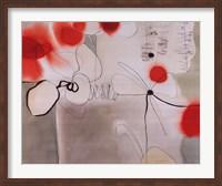 Framed Red Licorice