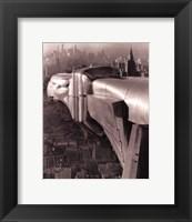 Framed New York - Chrysler Eagle