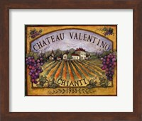 Framed Chateau Valentino