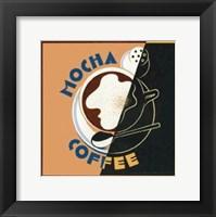 Framed Mocha - Coffee