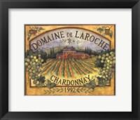 Framed Domaine DeLaroche
