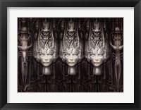 Lii 3-D Framed Print