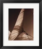Windward Sail II Framed Print