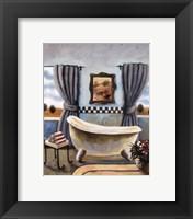 Framed Vintage Bath II