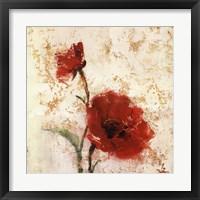 Framed Simply Floral II