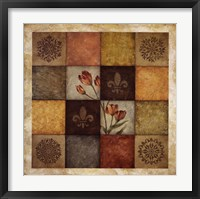 Framed Color Swatch Blossom II