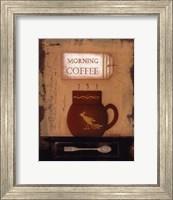 Framed Morning Coffee