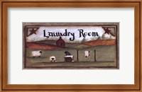 Framed Open Air Laundry Room