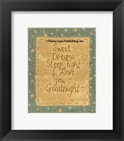 Framed Goodnight Wishes