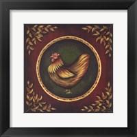 Framed Humble Hen