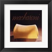 Framed Macharoni