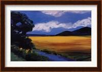 Framed Golden Field