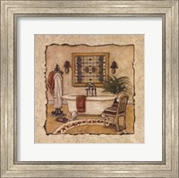 Framed Art Deco Bath II