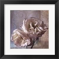 Framed Modern Rose I