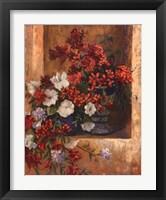 Framed Flores De Espana I