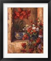 Framed Flores De Espana II