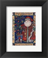 Framed Busy Little Christmas