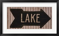 To The Lake Framed Print