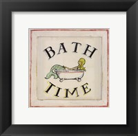 Framed Bathtime II