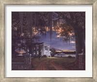 Framed Evening Passage